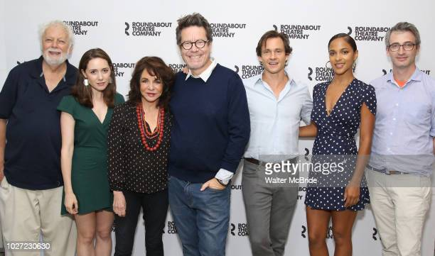 John Tillinger Talene Monahon Stockard Channing Alexi Kaye Campbell Hugh Dancy Megalyn Echikunwoke and Daniel Aukin attend the photo call for the...