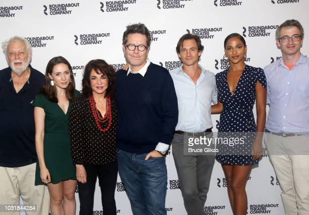 John Tillinger Talene Monahon Stockard Channing Playwright Alexi Kaye Campbell Hugh Dancy Megalyn Echikunwoke and Director Daniel Aukin pose at a...