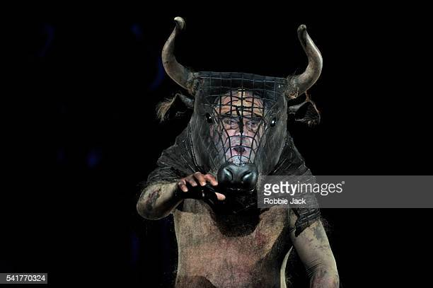 John Tomlinson as The Minotaur in Harrison Birtwistle's The Minotaur conducted by Ryan Wigglesworth and directed by Stephen Langridge at the Royal...