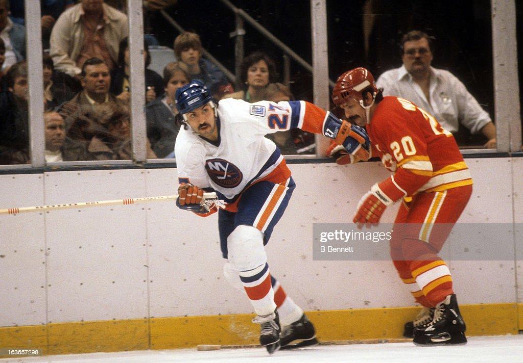 Atlanta Flames v New York Islanders : News Photo