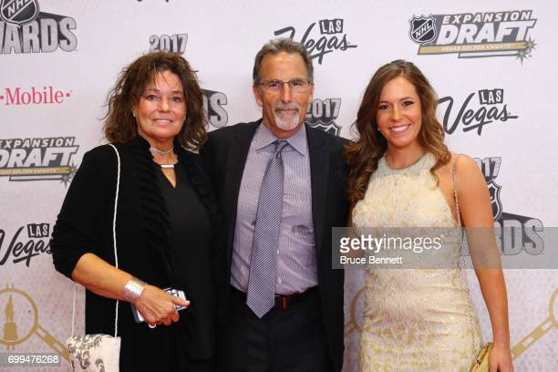 John Tortorella of the Columbus Blue Jackets and guests attend the 2017 NHL Awards at TMobile Arena on June 21 2017 in Las Vegas Nevada