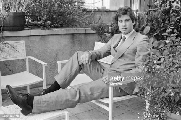 John Travolta, actor, singer and dancer, pictured in London, on his way to The Venice Film Festival where he is attending a screening of his latest...