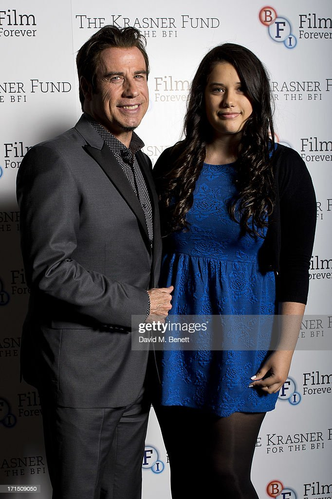 John Travolta Honoured By The BFI As Part Of The Krasner Fund For The BFI Programme - Photocall