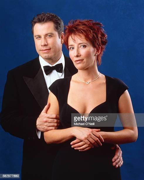 John Travolta and Emma Thompson