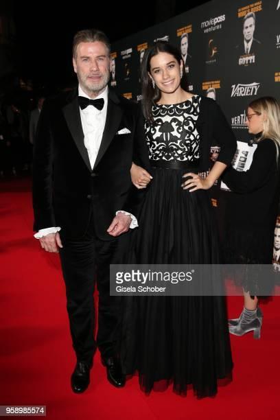 John Travolta and his daughter Ella Bleu Travolta during the party in Honour of John Travolta's receipt of the Inaugural Variety Cinema Icon Award...