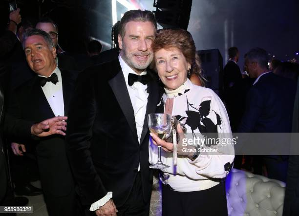 John Travolta and his sister Ellen Travolta during the party in Honour of John Travolta's receipt of the Inaugural Variety Cinema Icon Award during...