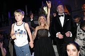 John travolta and his son benjamin travolta and hiw wife kelly the picture id958986378?s=170x170