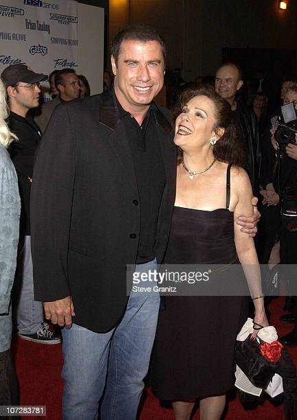 John Travolta and Karen Lynn Gorney during Paramount Home Entertainment Celebrates DVD Releases Of 6 AllTime Musical Favorites Inside and Show at...