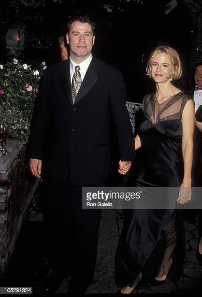 John Travolta and Kelly Preston during 32nd Annual New York Film Festival Opening Night Party at Avery Fisher Hall Lincoln Center in New York City...