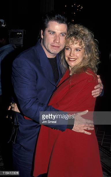 John Travolta and Kelly Preston during 'Grease' 20th Annual Class Reunion at Sheraton Universal Hotel in Universal City California United States