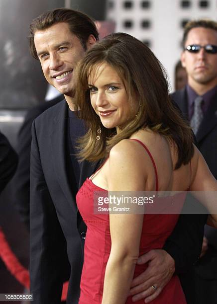 John Travolta and Kelly Preston during 'The Punisher' Los Angeles Premiere Arrivals at Arclight Cinerama Dome in Hollywood California United States