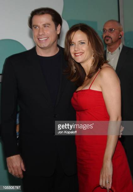John Travolta and Kelly Preston during 'The Punisher' Los Angeles Premiere at The Arclight Cinemas in Hollywood California United States