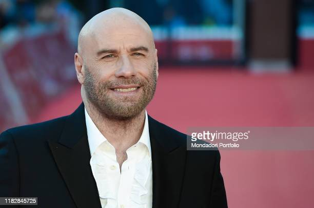 John Travolta at Rome Film Fest 2019. Rome , October 22nd, 2019