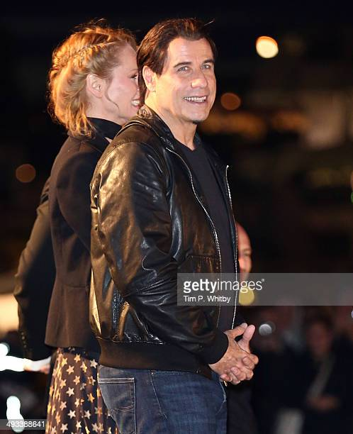 John Travolta attends a screening of Pulp Fiction at the 67th Annual Cannes Film Festival on May 23 2014 in Cannes France