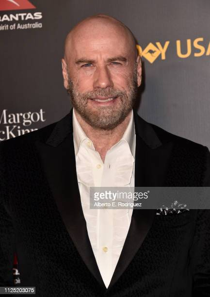John Travolta attends the 16th annual G'Day USA Los Angeles Gala at 3LABS on January 26 2019 in Culver City California