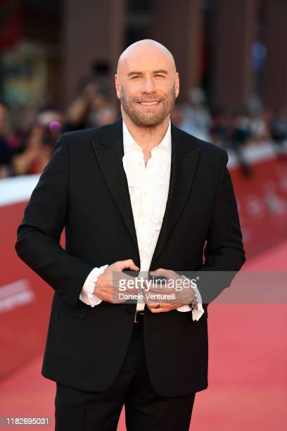 John Travolta attends the red carpet during the 14th Rome Film Festival on October 22, 2019 in Rome, Italy.