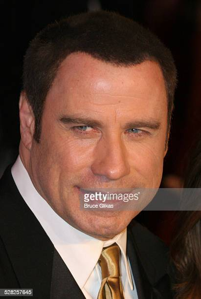 John Travolta during 2006 Vanity Fair Oscar Party at Morton's in West Hollywood California United States