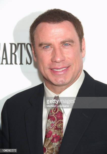 John Travolta during 5th Annual Tribeca Film Festival 'Lonely Hearts' Premiere at Tribeca Performing Arts Center in New York City New York United...