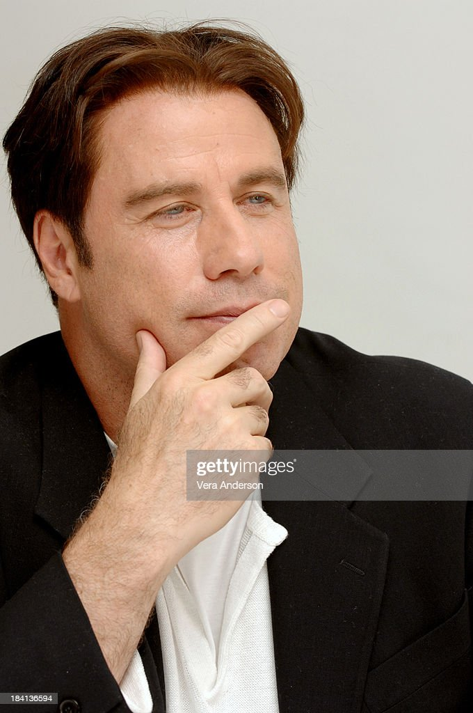 John Travolta During Hairspray Press Conference With John Travolta News Photo Getty Images