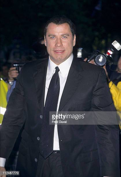 John Travolta during John Travolta Book Signing at Waterstone's at Picadilly in London Great Britain