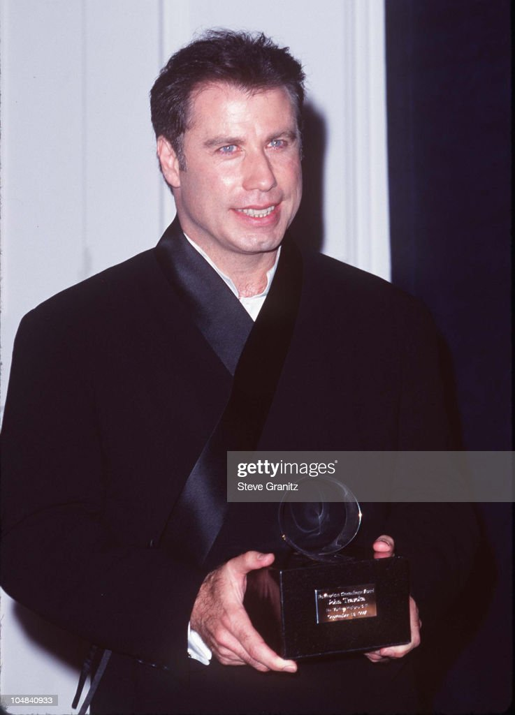 John Travolta during The 12th Annual Moving Picture Ball American Cinematheque Award Honoring John Travolta at Beverly Hilton Hotel in Beverly Hills, California, United States.