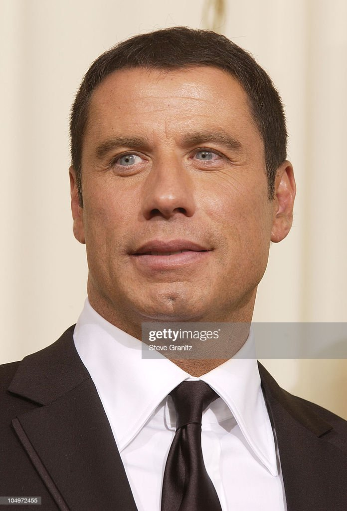 John Travolta during The 74th Annual Academy Awards - Press Room at Kodak Theater in Hollywood, California, United States.