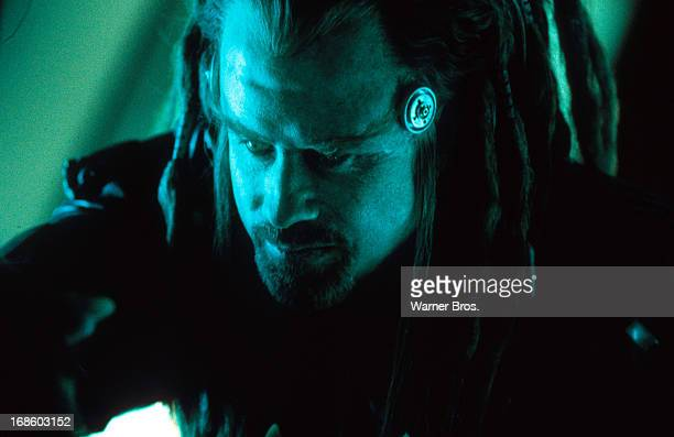 John Travolta in scene from the film 'Battlefield Earth' 2000