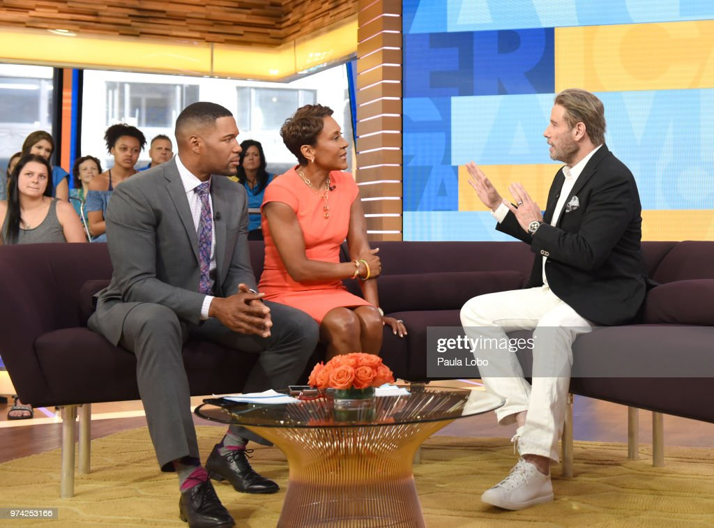 AMERICA - John Travolta is a guest on 'Good Morning America,' Thursday, June 14, 2018 airing on the ABC Television Network. MICHAEL