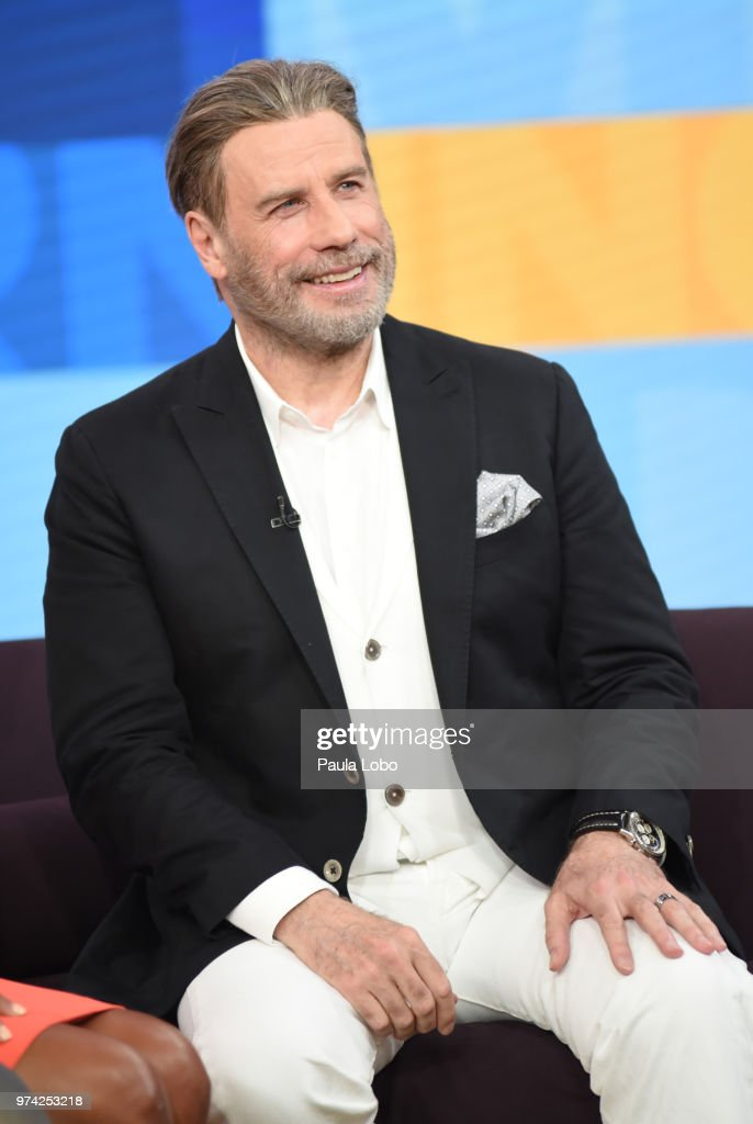 AMERICA - John Travolta is a guest on 'Good Morning America,' Thursday, June 14, 2018 airing on the ABC Television Network. JOHN
