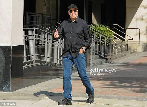 John Travolta is seen on September 09 2015 in Los Angeles California
