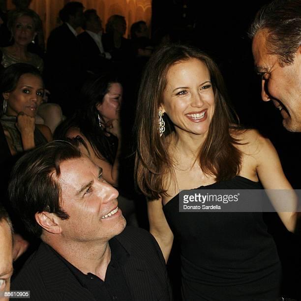John Travolta Kelly Preston and George Clooney