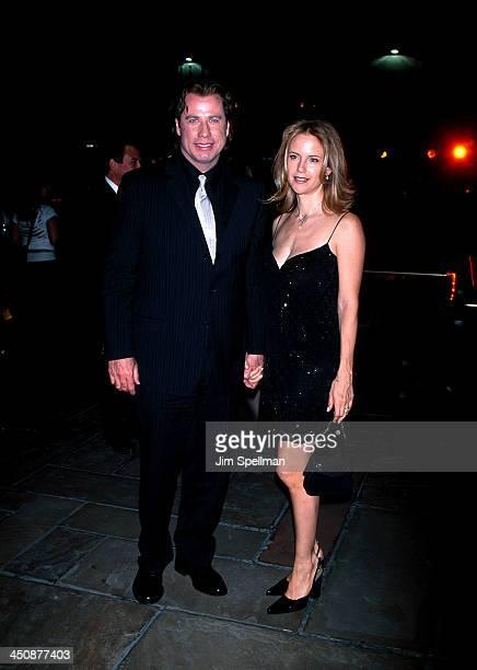 John Travolta Kelly Preston during Swordfish New York Premiere at Ziegfeld Theatre in New York City New York United States