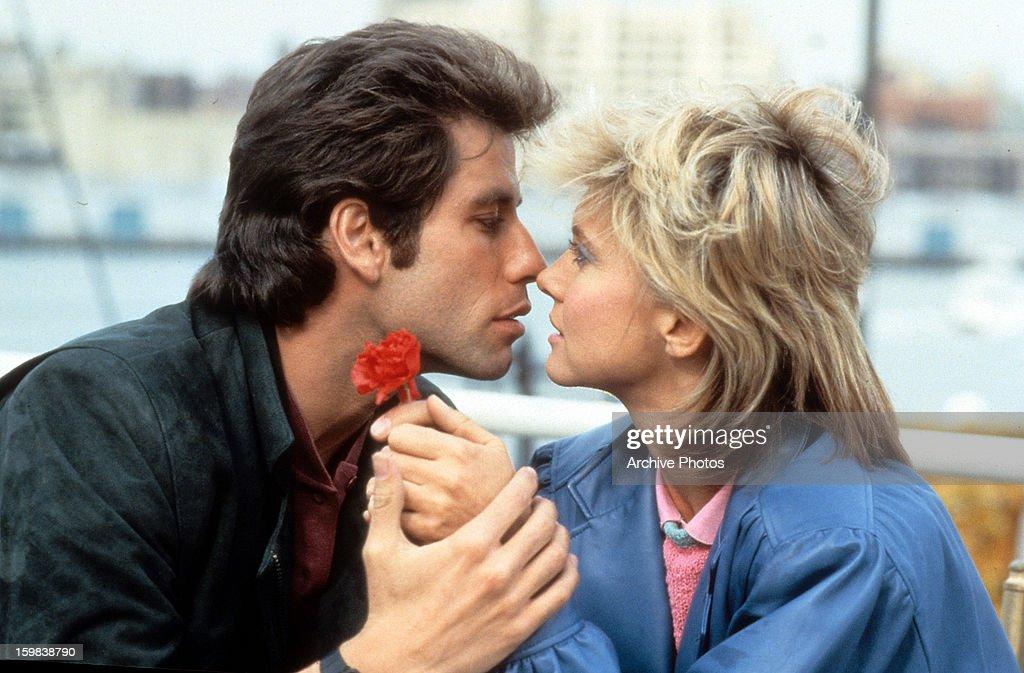 John Travolta And Olivia Newton-John In 'Two Of A Kind' : News Photo