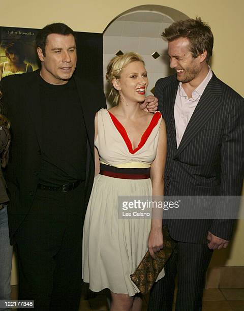 John Travolta Scarlett Johansson and Gabriel Macht