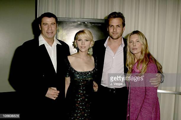 John Travolta Scarlett Johansson Gabriel Macht and Deborah Unger