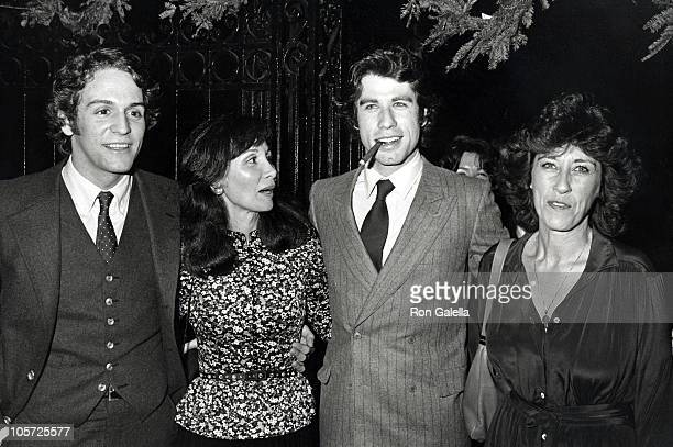 John Travolta Sister Ellen and Friends during After Party of They're Playing Our Song Performance at Imperial Theater in New York City New York...