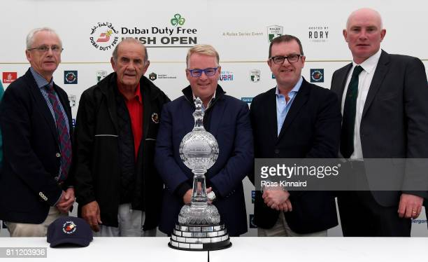 John Treacy Chief Executive of Sport Ireland Colm McGloughlin Executive Vice Chairman and CEO of Dubai Duty Free Keith Pelley the Chief Executive of...