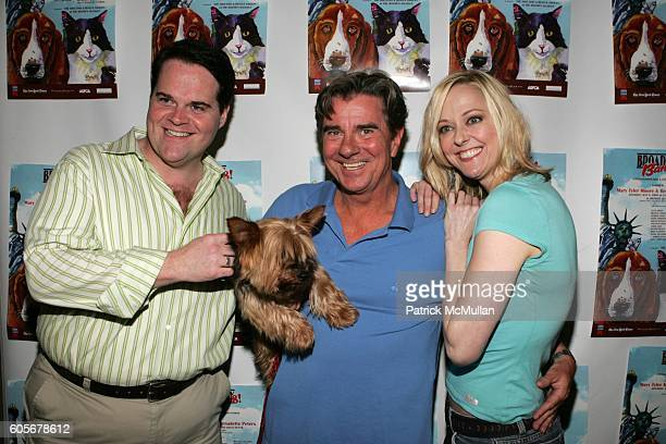 John Treacy Egan Gary Beach and Angie Schworer attend 'Broadway Barks 8' A Star Studded Dog and Cat AdoptaThon Hosted by Mary Tyler Moore and...
