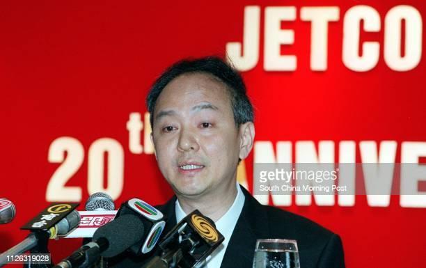 John Tsang Hinkau Deputy General Manager of JETCO at Luk Kwok Hotel Wan Chai
