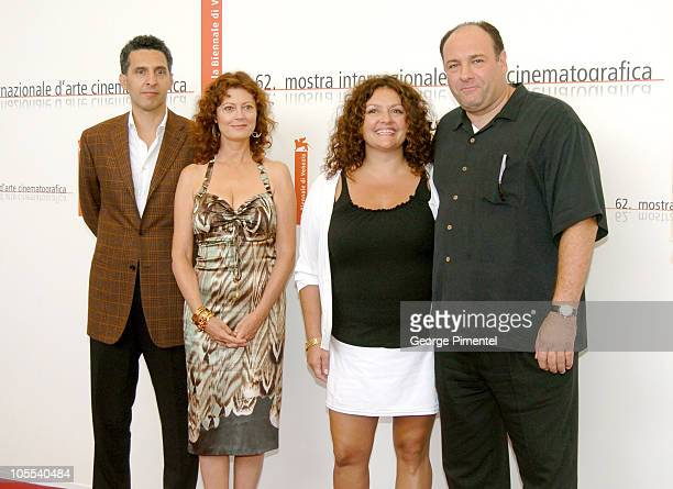 John Turturro Aida Turturro James Gandolfini and Susan Sarandon
