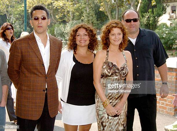 John Turturro Aida Turturro Susan Sarandon and James Gandolfini