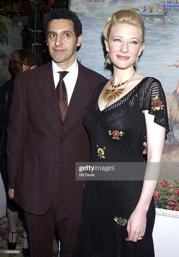 John Turturro and Cate Blanchett during 2001 National Board of Review Awards at Tavern on the Green in New York, NY, United States.