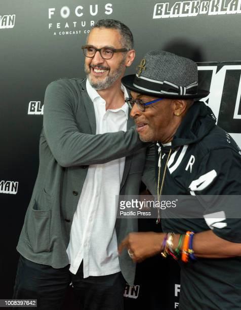 John Turturro and Spike Lee attend BlacKkKlansman premiere at BAM Harvey Theater