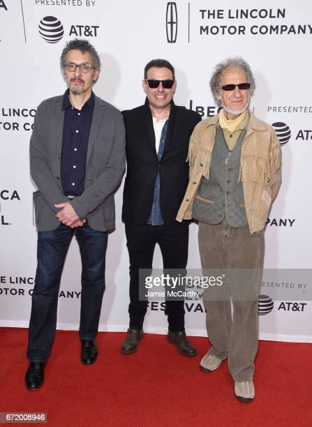 John Turturro Antonino D'Ambrosio and Frank Serpico attend the 'Frank Serpico' Premiere during the 2017 Tribeca Film Festival at Cinepolis Chelsea on...