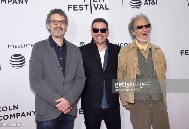 John Turturro Antonino D'Ambrosio and Frank Serpico attend the 'Frank Serpico' Premiere during the 2017 Tribeca Film Festival at Cinepolis Chelsea on...