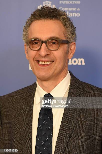 John Turturro attends Il Nome Della Rosa Photocall on March 01 2019 in Milan Italy