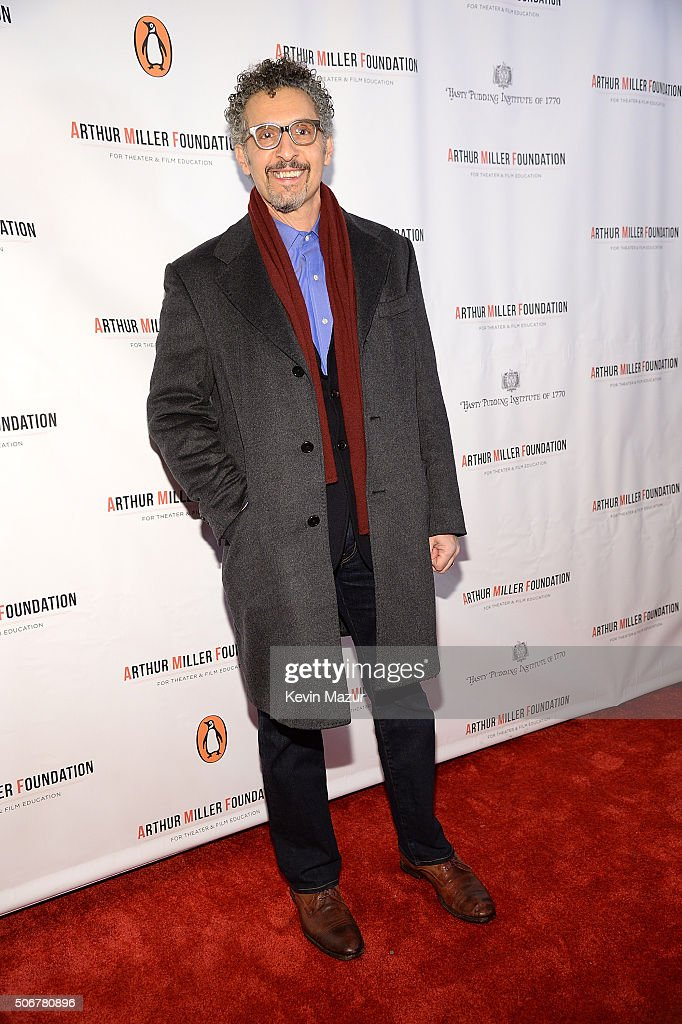 John Turturro attends the Arthur Miller - One Night 100 Years Benefit at Lyceum Theatre on January 25, 2016 in New York City.