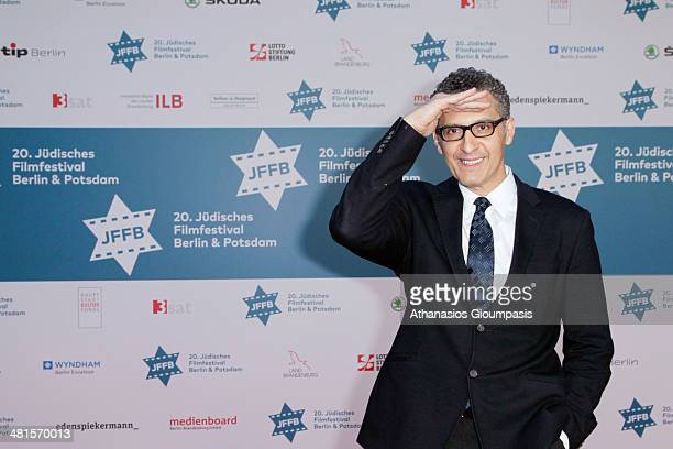 John Turturro attends the opening gala of the 20th Jewish Filmfestival Berlin Potsdam at Hans Otto Theater on March 30 2014 in Potsdam Germany