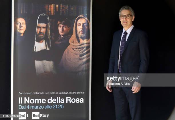 John Turturro attends the photocall for Il Nome Della Rosa at Rai Viale Mazzini on February 28 2019 in Rome Italy