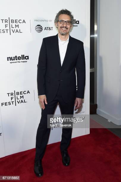 John Turturro attends the Tribeca Shorts New York Group Therapy at Regal Battery Park Cinemas on April 21 2017 in New York City